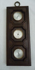 Vintage Springfield U.S.A. Weather Station Thermometer Barometer Humidity Meter