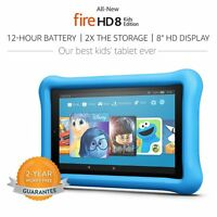 Amazon Kindle Fire 8 Kid Proof Case Children Edition 8 Hd Tablet 32 Gb - 2017