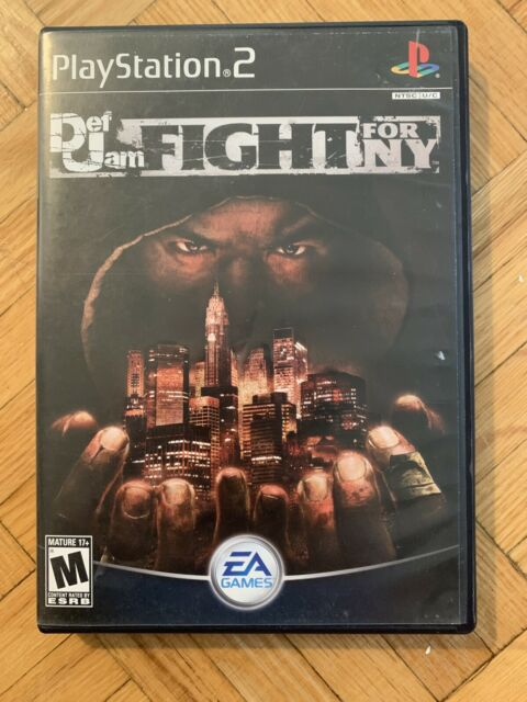 Def Jam: Fight for NY (Sony PlayStation 2, 2004) Great Condition. With Manual