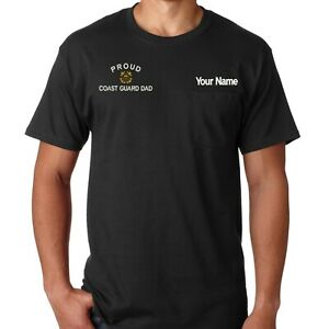 Black T-shirt with Pocket / pocket tee with PROUD COAST ...