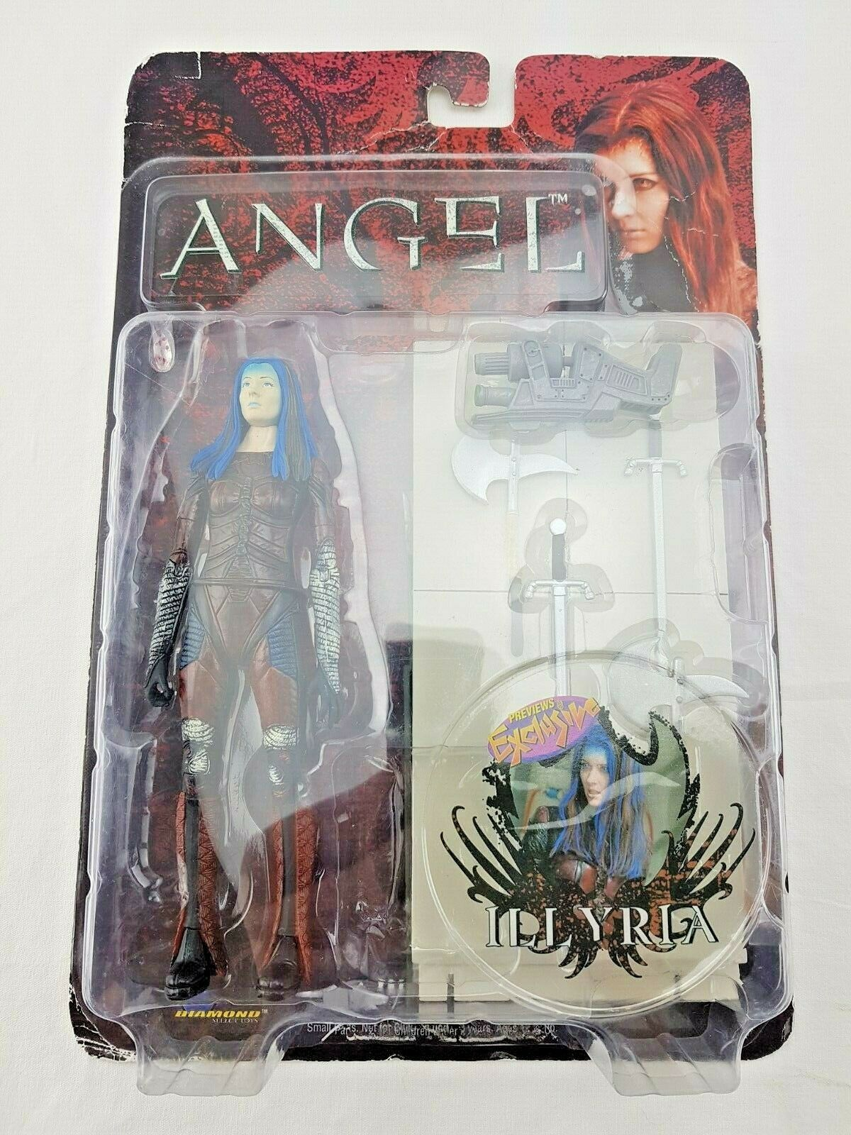 Angel - Illyria Previews Exclusive  6  Scale Figure 2005 - Diamond Select Toys
