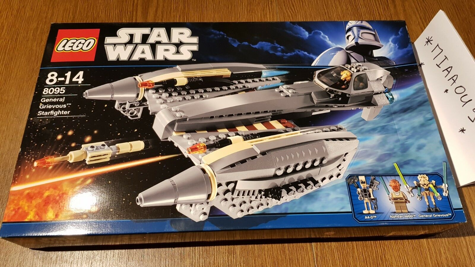 LEGO 8095 - General Grievous Starfighter  NEW  Non OuGrün   Scelled   OVP