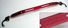 Honda Civic Acura Integra Front Upper Strut Tower Brace Bar Megan Racing Red