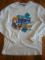 Old Navy Snow Mobile Ls T-shirt Boys Size Xl