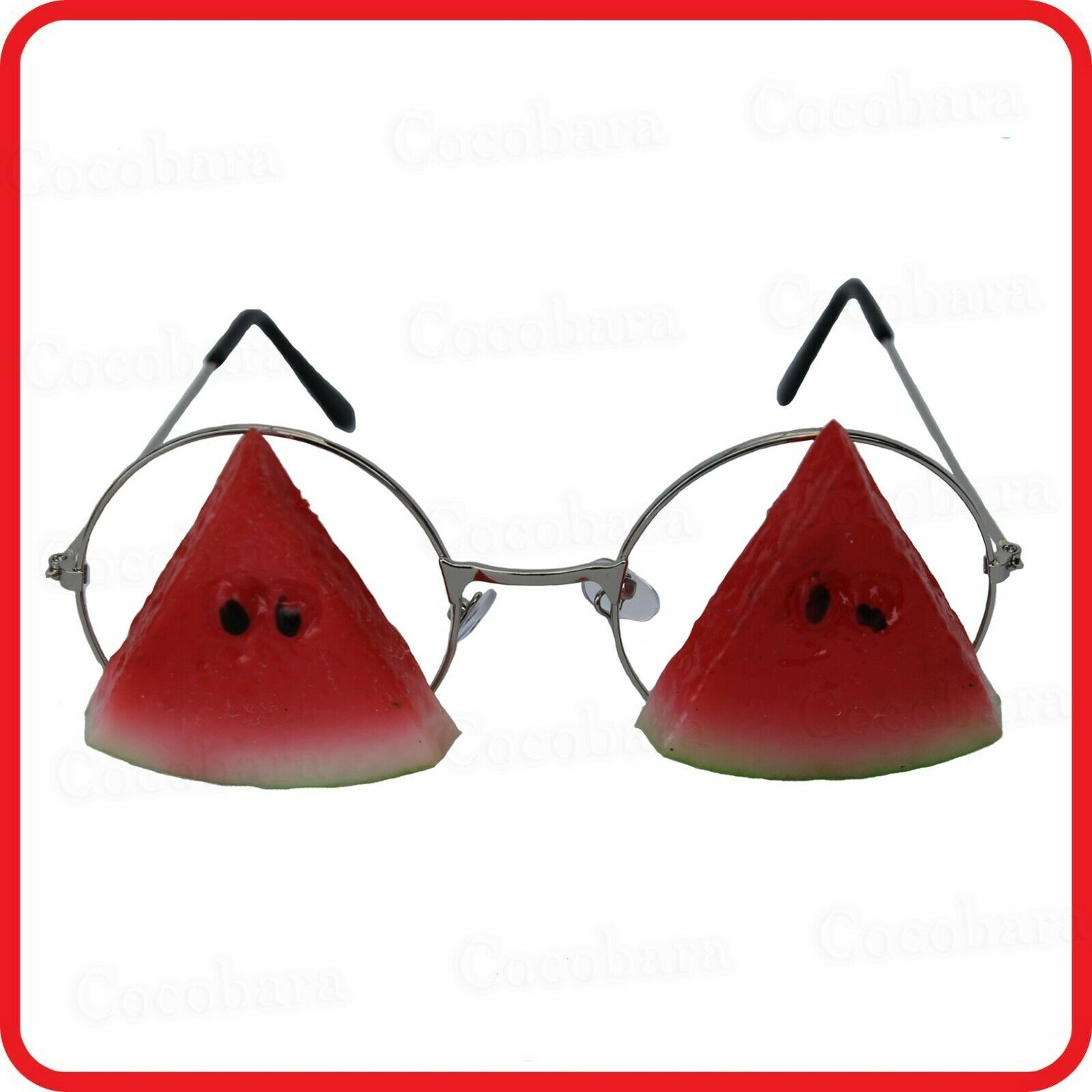 WATERMELON SLICE SLICES GLASSES SUNGLASSES-FUNNY-COSTUME-PARTY-DRESS UP-COSPLAY