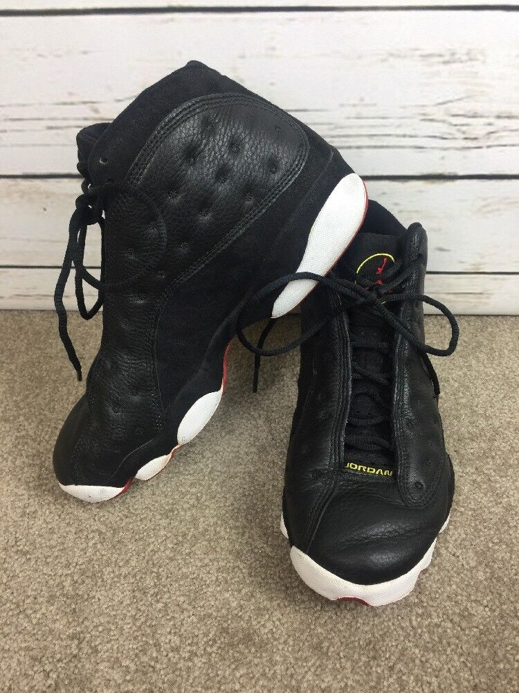 1997 OG Nike Air Jordan XIII Playoff Black White Red 136002 061 Comfortable best-selling model of the brand