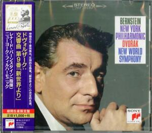 LEONARD-BERNSTEIN-DVORAK-SYMPHONY-NO-9-FROM-THE-NEW-WORLD-JAPAN-CD-Ltd-Ed-B63