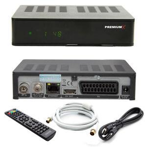 Digital Kabel TV Receiver Kabelreceiver DVB-C HDTV Full HD 1100 USB + HDMI Kabel