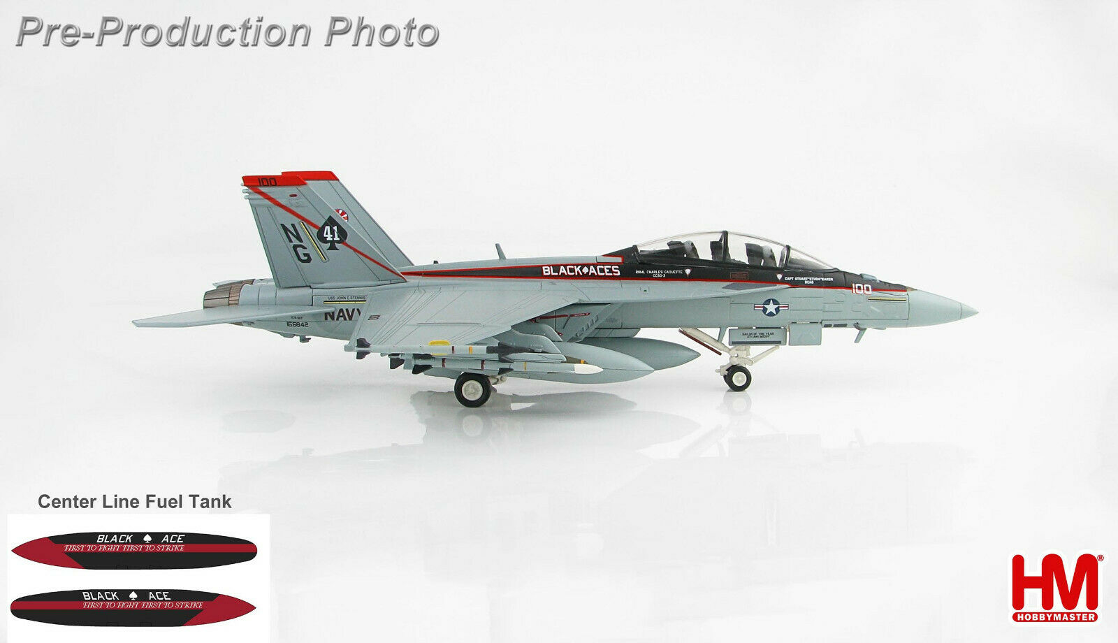 los últimos modelos Hobby Master HA5111 1 72 McDonell Douglas Douglas Douglas F A-18F súper Hornet VFA-41 Negro Ace  barato en alta calidad