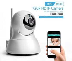 Wireless Pan Tilt 720P Security Network CCTV IP Camera WIFI Night Vision