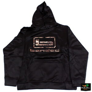 NEW BANDED GEAR b LOGO HOODIE HOODED SWEATSHIRT BLACK W  MAX-5 CAMO ... 5648a1c89