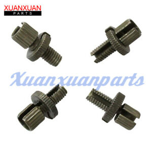 Details about 4 Sets Motorcycle Cable Clutch Line Adjusters Pair Adjustment  Screws For Suzuki