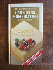 Sainsbury Cook Book CAKE ICING & DECORATING Cakes Cooking Cookery 1980s Handslip