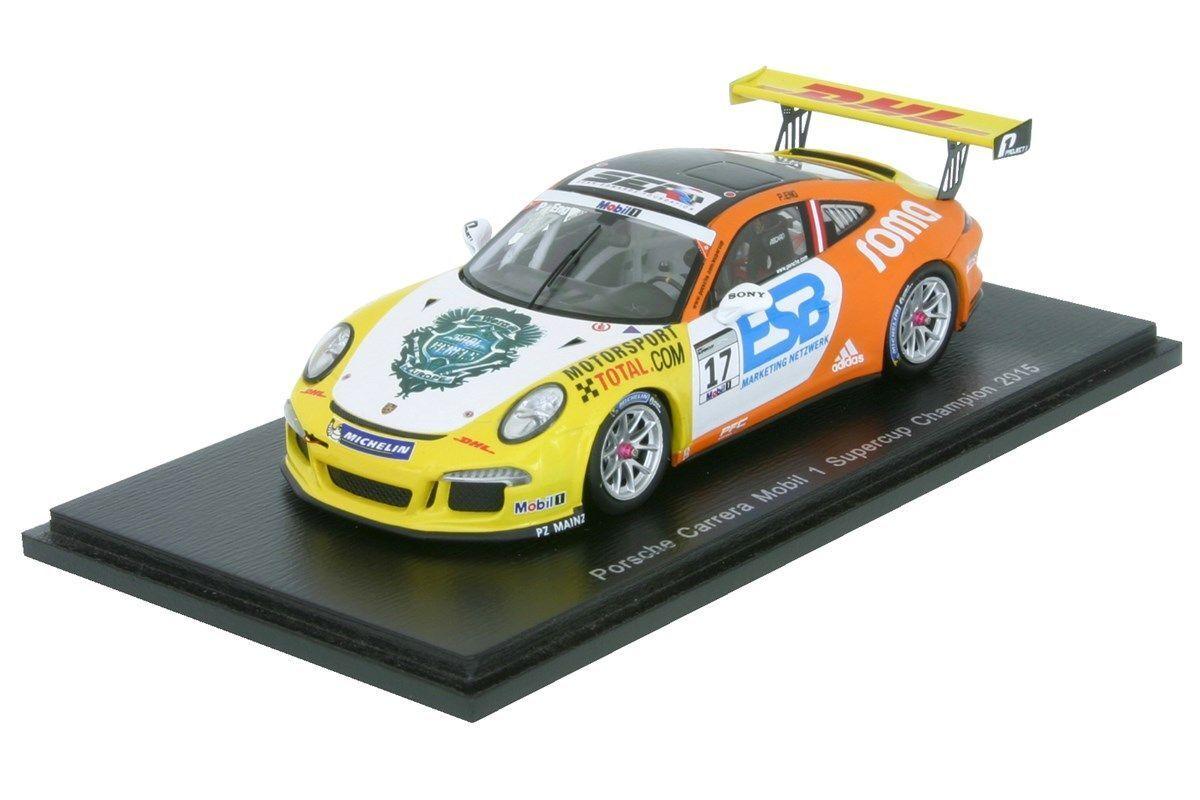 ventas en linea Porsche 911 gt3 Cup-Philipp estrechamente-Porsche súpercup súpercup súpercup 2015 - 1 43 Spark 4697  exclusivo