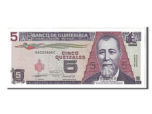 Billets-Guatemala-5-Quetzales-type-J-R-Barrios-108311