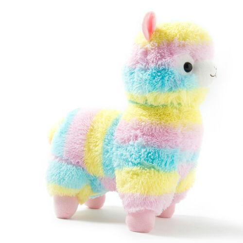 Alpacasso Arpakasso Amuse Rainbow Striped Llama Alpaca Stuffed Plush Doll 6.7/'/'