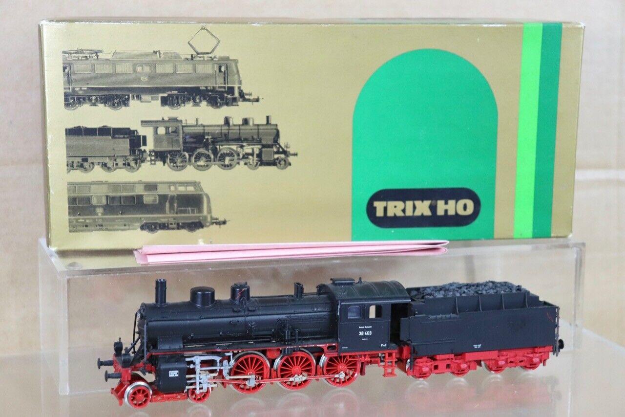Trix 2409 Dr 4-6-0 Clase Br 38 403 Dampflok Locomotoras en Caja NT