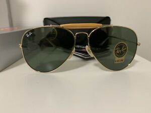8556ac5dc Ray Ban Outdoorsman II RB3029 L2112 62 Gold Frame / Green Classic G ...