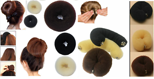 Hair Bun Mesh Shaper Styler Donut Former Ring Hairdresser Accessories