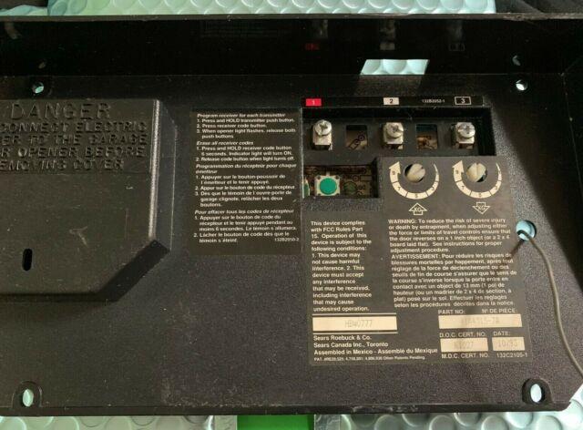 Liftmaster Craftsman Chamberlain Garage Door Openrator Logic Board 41a4315 7a For Sale Online Ebay