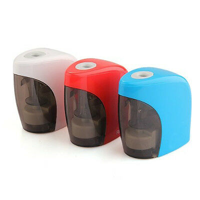 Electric Pencil Sharpener Automatic Desktop School Stationery Office WP