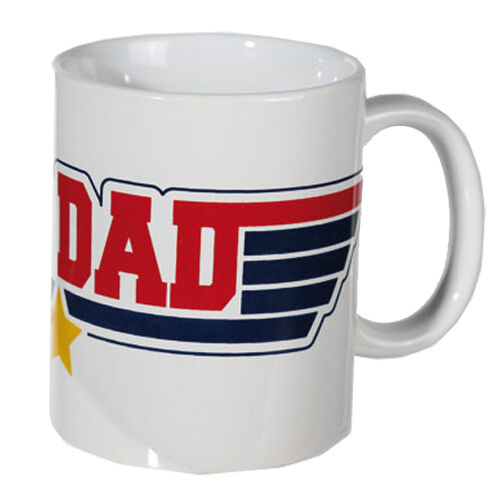 TOP-DAD-COFFEE-MUG-TEA-NOVELTY-CERAMIC-KITCHEN-DRINKING-GIFT-SET-FATHERS-DAY-NEW