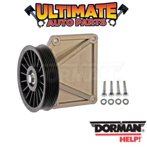 4.0L or 2.5L for 97-99 Jeep Wrangler AC Air Conditioning Bypass Pulley