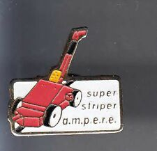 RARE PINS PIN'S .. AGRICULTURE TRACTEUR TRACTOR SUPER STRIPER AMPERE ~BF