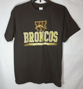 ceb853fec WESTERN MICHIGAN BRONCOS * NEW Men's Medium * T-Shirt Graphic Tee ...