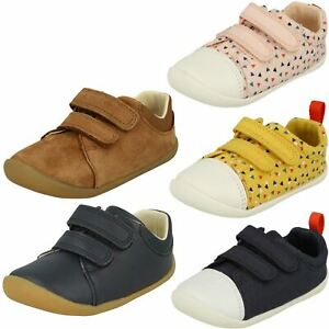 """Analytique Enfants Garçons Filles Clarks Pré-chaussures De Marche """"roamer Craft""""-afficher Le Titre D'origine"""