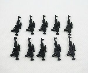 PICK YOUR WEAPON Black Gun Medieval Knights Plastic Weapon Accessory Toys Gift