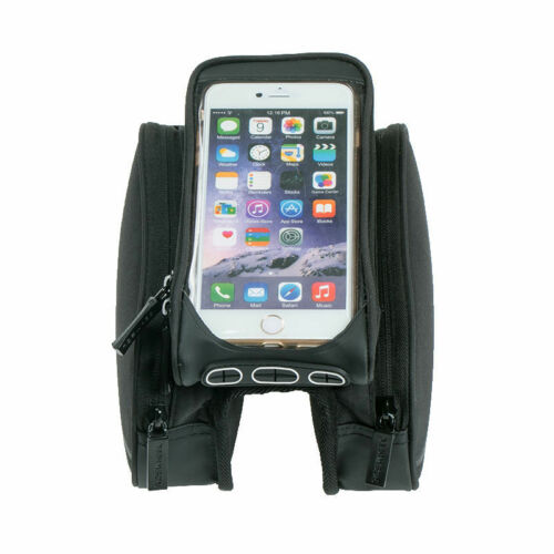 Cycling Bicycle Frame Pannier Front Tube Bag Mobile Phone Pouch Bike Accessories
