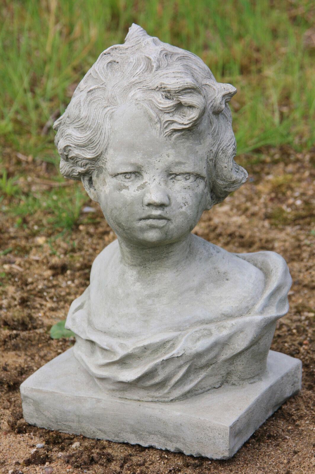 Figuras Piedra Busto Melanie,Escultura de Moldeada Nuevo Resistente Heladas