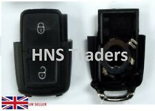 NEW 2 BUTTONS REMOTE KEY SHELL CASE FOB KEYLESS FOR VW GOLF MK4 BORA REPLACEMENT