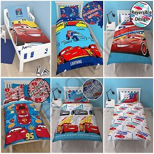 Image Is Loading Disney Cars Single Double Duvet Cover Set Boys