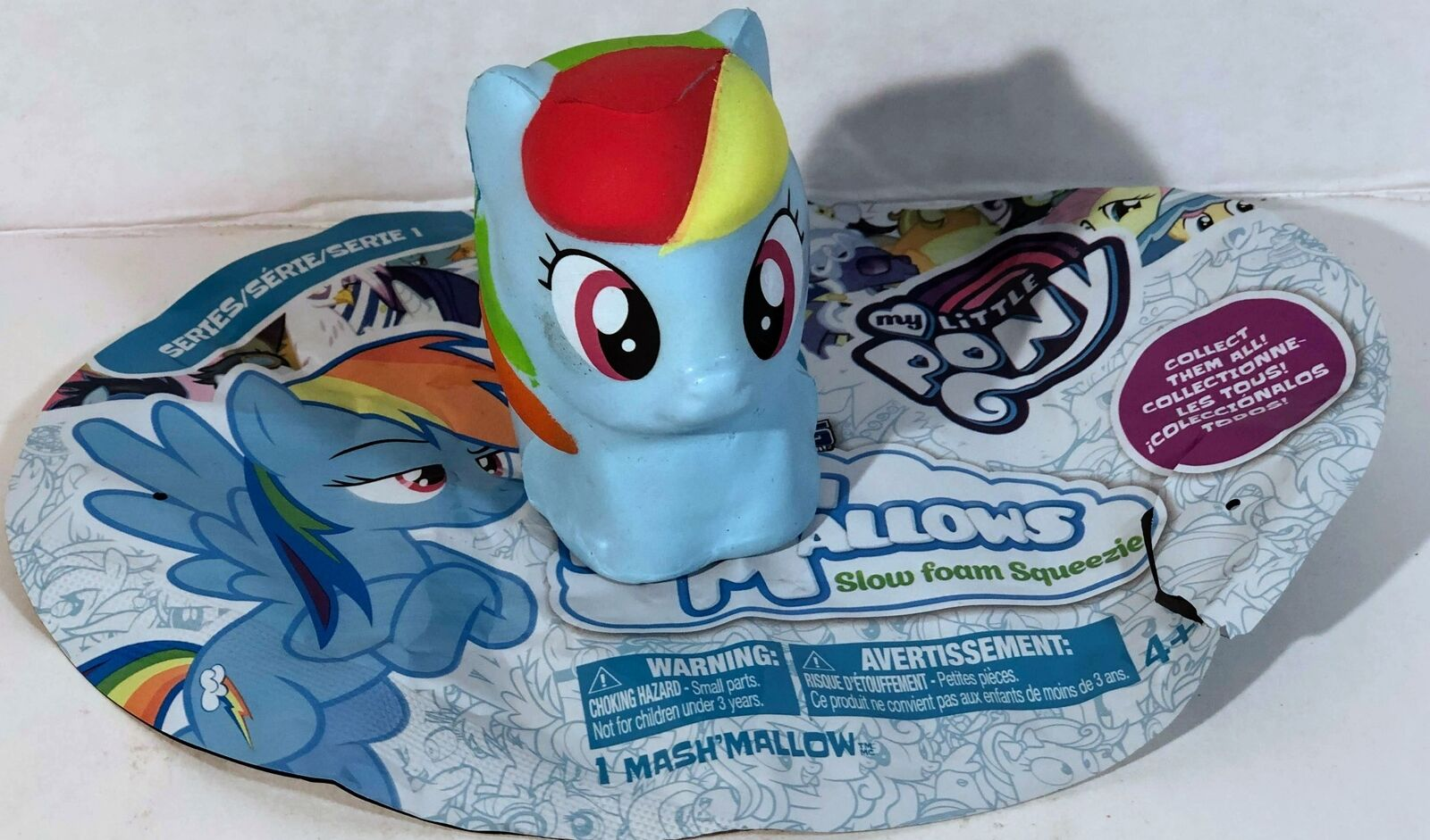 My Little Pony Series 1 Lyra HeartStrings Mashems MashMallows Slow Foam Squeezie