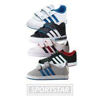 Adidas Court Sneaker - Turnschuhe - Klettverschluss - Kinder - Gr. 19 - 27 NEU