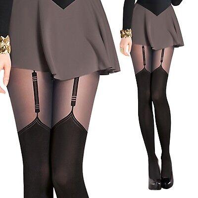 Canvivi Kniestrumpfe Damen Strumpfhose Leggings