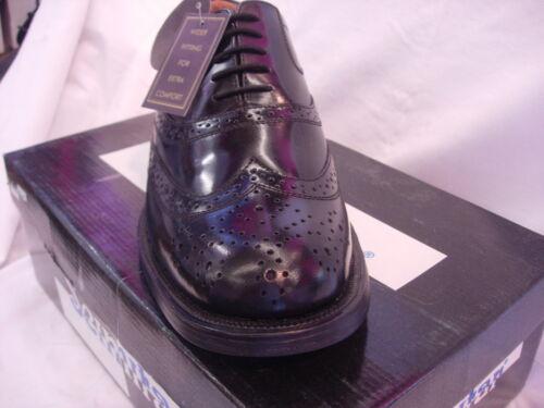 Smart Travail Casual Office Chaussure Cuir Hommes Oxford En Casquette d'aile Noir Hommes Brogue Pqan1Bw
