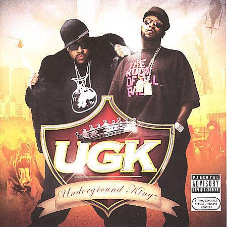 Underground Kingz [Bonus DVD] [PA] by UGK (CD, Aug-2007, 2 Discs, Jive  (USA))