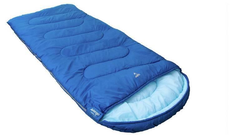 Vango Kiana XL 250GSM Mummy Sleeping Bag - bluee For Spring And Early Autumn _UK