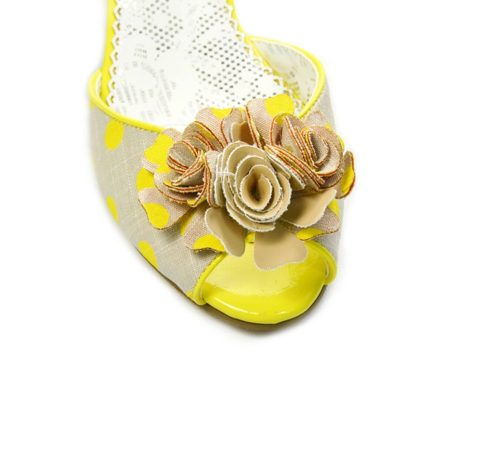 Poetic Licence Damens Crazy Daisy  Wedge Sandales Schuhes Yellow  Daisy 6.5, 7.0, 7.5 f4e53e