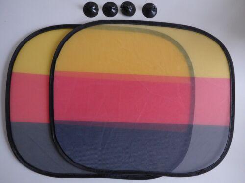 Protección solar coche set 44x36 cm bandera Alemania universal WM copa del mundo