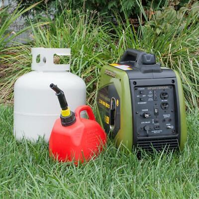 Sportsman Inverter Generator 2 200 1 800 Watt Lpg Gasoline Powered Muffler 27077803044 Ebay