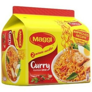 Maggi-2-Minute-Noodles-5-x-79g-Curry-flavour-original-from-Malaysia