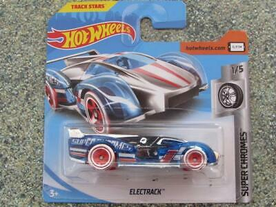 Hot Wheels 2019 #073//250 ELECTRACK chrome and blue @C