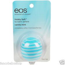 EOS Lip Balm Vanilla Mint New Evolution of Smooth Original USA Sphere 0.25 oz
