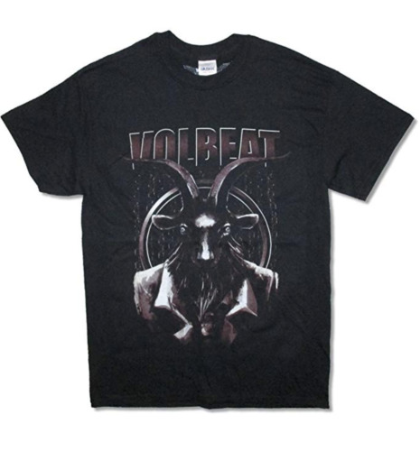 Volbeat North America Tour Concert 2015 Goat Shirt
