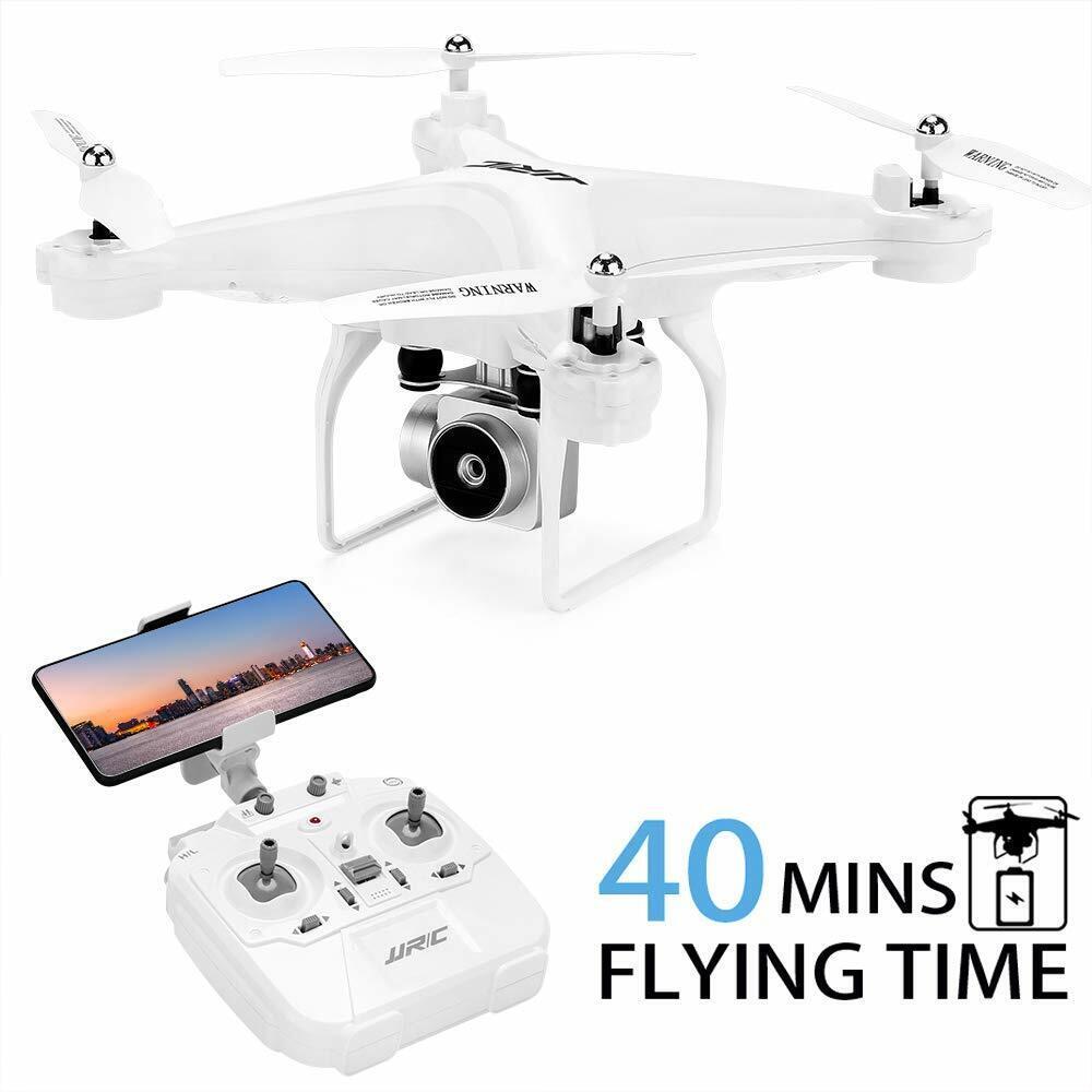 40分の飛行時間ドローン、720 p HDカメラでJJRC H 68 RC Quadcopter。
