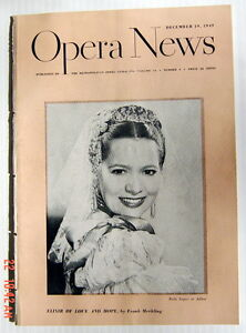 OPERA-NEWS-MAGAZINE-DECEMBER-19-1949-VOLUME-14-NUMBER-8